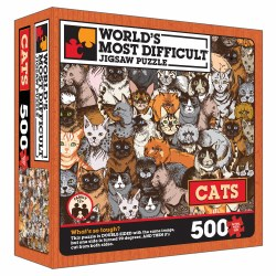 Cats Double-Sided Jigsaw Puzzle