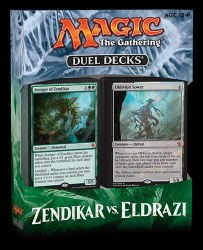Magic the Gathering Duel Decks: Zendikar v Eldrazi
