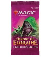 Magic The Gathering Throne of Eldrain Collector Booster Pack