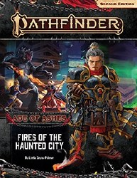 Pathfinder 2nd Edition Adventure Path: Age of Ashes Book Four - Fires of the Haunted City