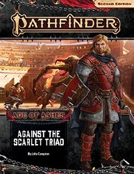 Pathfinder 2nd Edition Adventure Path: Age of Ahses Book Five - Against the Scarlet Triad