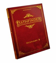 Pathfinder 2nd Edition: Bestiary 3 - Special Edition