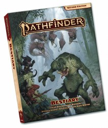 Pathfinder 2nd Edition: Bestiary - Pocket Paperback