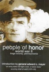 People of Honor: World War II, Tioga County DVD