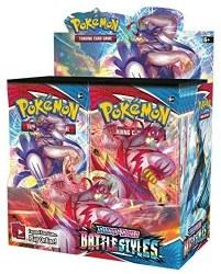 Pokemon Sword & Shield: Battle Styles - Booster Box