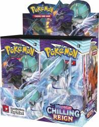 Pokemon Sword & Shield: Chilling Reign - Booster Box