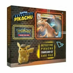Detective Pikachu Charizard-GX Special Case File