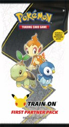 Pokemon First Partner Pack Sinnoh