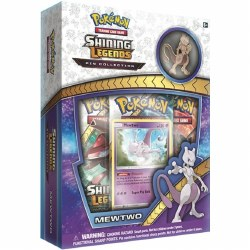 Pokemon Shining Legends Pin Collection: Mewtwo