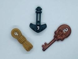 Poly Hero 3-Dice Set: Burglar's Bundle