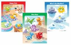 Pre-School Puzzle 3-Pack