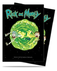 Rick and Morty Standard Card Sleeves - Adult Swim