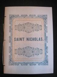 Saint Nicholas Booklet