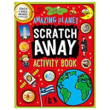 Amazing Planet Scratch Away Activity Book