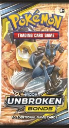 Pokemon Sun & Moon 10: Unbroken Bonds Booster Pack