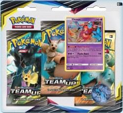 Pokemon Sun & Moon 9: Team Up Blister 3-Pack