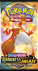 Pokemon Sword & Shield: Darkness Ablaze - Booster Pack