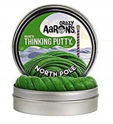 """Thinking Putty: 4"""" Magnetic North Pole"""