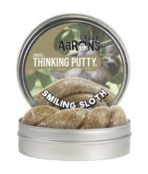 """Thinking Putty: 4"""" Smiling Sloth"""