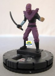 Heroclix TMNT1 009 Foot Soldier (Katana)