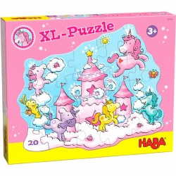 HABA Puzzle: Unicorn Glitterluck XL 20pc