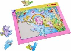 HABA Puzzle: Unicorn Glitterluck Frame 25pc