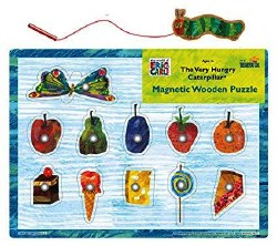 The Very Hungry Caterpillar Magnetic Wooden Puzzle