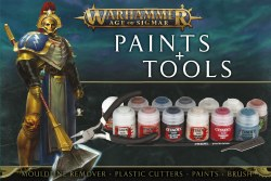 Warhammer Age of Sigmar: Paint & Tools Set