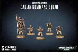 Warhammer 40,000: Astra Militarum Cadian Command Squad