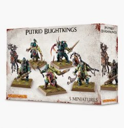 Warhammer Age of Sigmar: Nurgle Rottbringers Putrid Blightkings