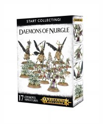 Warhammer Age of Sigmar: Daemons of Nurgle Start Collecting Set