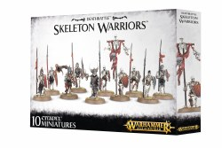 Warhammer Age of Sigmar: Deathrattle Skeleton Warriors
