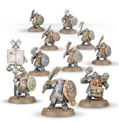 Warhammer: Age of Sigmar - Dispossessed Ironbreakers