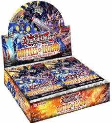 Yugioh Battles of Legend: Relentles Revenge Booster Box