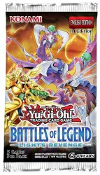 Yugioh Battles of Legend: Light's Revenge Booster Pack