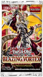 Yugioh! Blazing Vortex Booster Pack