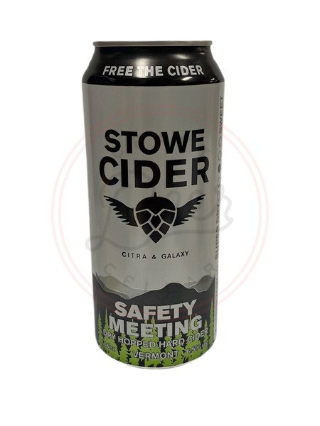 Safety Meeting - 16oz Can