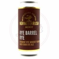 Rye Barrel Rye - 16oz Can