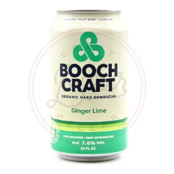 Ginger Lime - 12oz Can