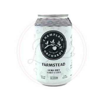Farmstead Cider - 12oz Can