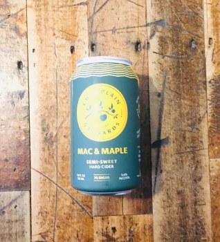 Macintosh & Maple - 12oz Can