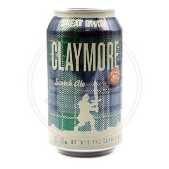 Claymore Scotch Ale - 12oz Can