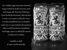 Coolship Dark Lager - 16oz Can