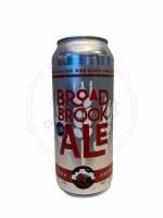 Broad Brook Ale - 16oz Can