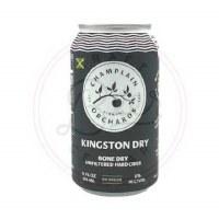 Kingston Dry - 12oz Can