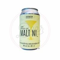 Lemon Meringue Maltini