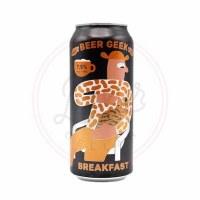 Beer Geek Breakfast - 16oz Can