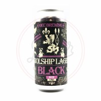 Oec Black Lager - 16oz Can