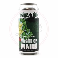 Taste Of Maine - 16oz Can