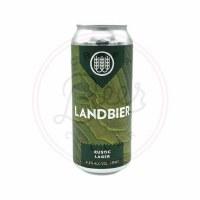Lanbier Rustic Lager - 16oz